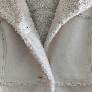 Ladies faux suede coat